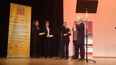 Annie Laurence Godefroy présente le jury